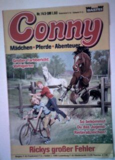 Conny #143 (Horse Comic in German): Gustav H Lubbe: Books