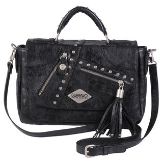 Buffalo David Bitton Studded Tassel Detail Cross body Bag