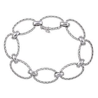 Tacori 18k White Gold 5/8ct TDW Diamond Bracelet (G, VS)