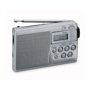 Petite radio portable avec tuner digital et système de présélection