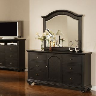 Napa Black Dresser and Mirror Today $749.99 5.0 (1 reviews)