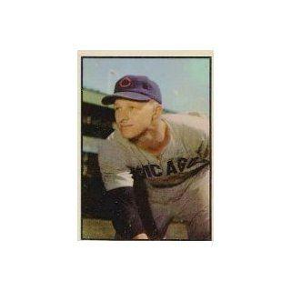 1953 Bowman Color #144 Warren Hacker   EX MT Collectibles