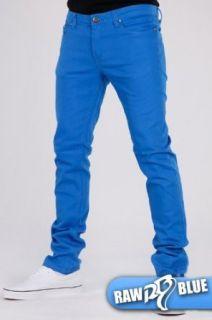 Raw Blue Skinny Pant   Royal (hellblaue Röhrenjeans, Röhre, Jeans