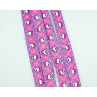 Laces   Skulls on Purple & Pink 38 #151 Shoelaces: Everything Else