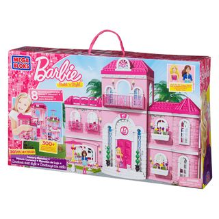 Mega Bloks Barbie Build n Style Luxury Mansion