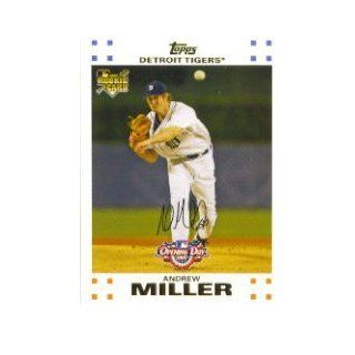 2007 Topps Opening Day #153 Andrew Miller RC Collectibles
