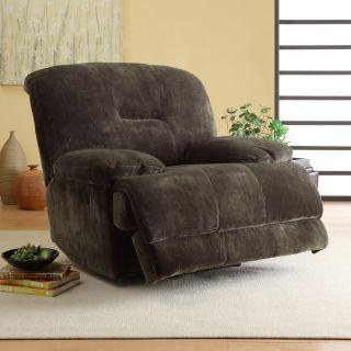 Felicity Dark Brown Microfiber Reclining Chair Today $649.99