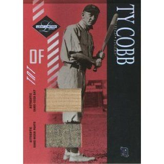 2003 Leaf Limited TNT #153 Ty Cobb Bat Pants/10 Jsy