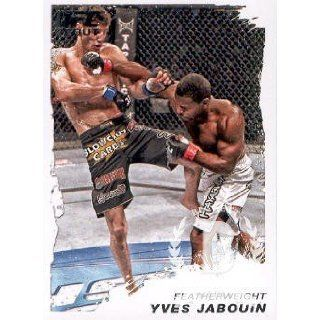 2011 Topps UFC Moment of Truth #153 Yves Jabouin MMA