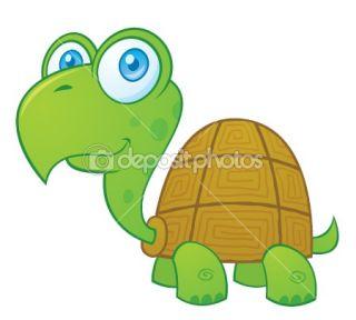Turtle Cartoon Character  Stock Vector © John Schwegel #1507494