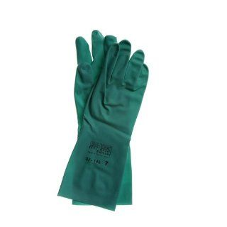 Ansell Sol Vex 37 145 Nitrile Glove, Chemical Resistant, 13 Straight