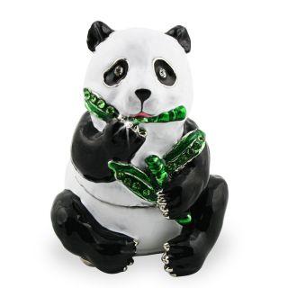 Objet dart Release Butterstick The Panda Bear Trinket Box