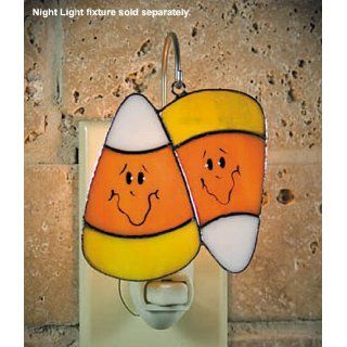 SWITCHABLES SW 154   CANDY CORN Stained Glass Night Light