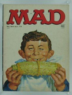 Mad Magazine #154; October 1972: Books