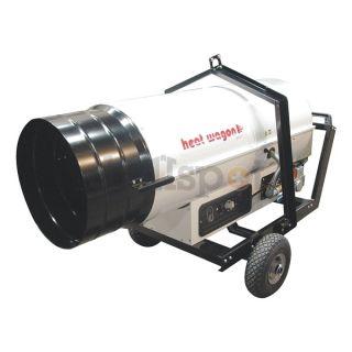 Heat Wagon DG400 Portable Gas Heater, Dual Fuel, 400000BtuH
