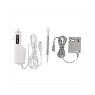 AC and DC Chargers with Stylus Touch Pen for Nintendo DS Lite Today $