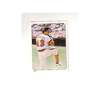 1984 Topps Stickers #155 Dave Dravecky: Collectibles