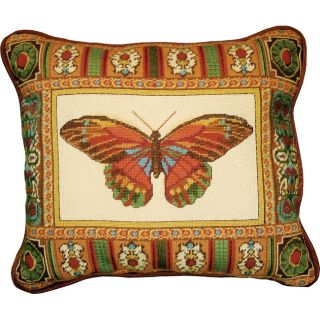 MCG Textiles Butterfly With Mosaic Border Needlepoint Kit Today: $30