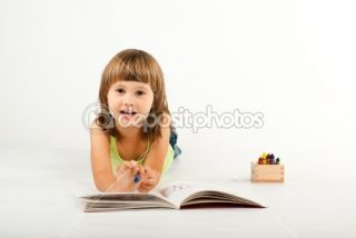 Cute little girl  Stock Photo © Viktoria Savostianova #2461049