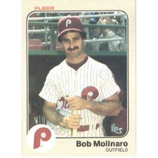 1983 Fleer # 167 Bob Molinaro Philadelphia Phillies