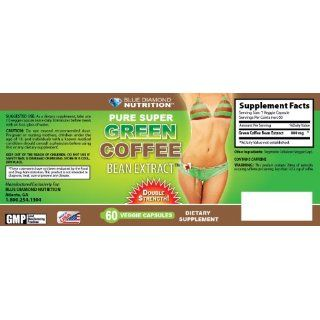 Diamond Nutrition Pure Super Green Coffee Extract 800MG  180 Caps