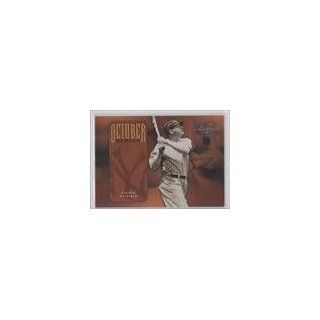 Babe Ruth #172/2,499 Babe Ruth BB, New York Yankees (Baseball Card