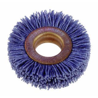 Silicon Carbide Bristle, 15000 RPM, 2 Diameter, 180 Grit (Pack of 12