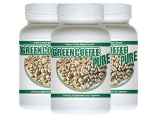 Green Coffee Pure   180 Capsules   Pure Green Coffee Bean