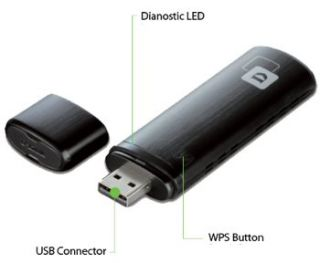 AC1200 Dual Band USB Adapter (DWA 182) Computers & Accessories