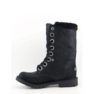Bearpaw Womens Kayla Black Boots