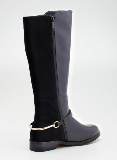 Wanted Hs Gored Bootwith Roundtoe & Belt