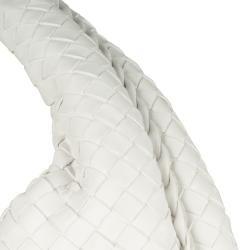 Bottega Veneta Large Intrecciato Woven Leather Hobo Bag