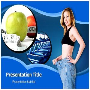 Weight loss powerpoint template Software