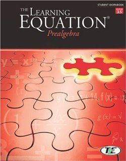 The Learning Equation Prealgebra Student Workbook, Version 3.5 Online