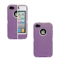 Otterbox Defender iPhone 4 Purple/ White Protector Case