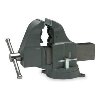 Columbian 206M3 Pipe/Bench Vise, 6 In W, 10 In Opening