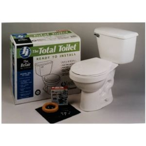 Jameco International Llc TT 1000 White 2 Piece Toilet