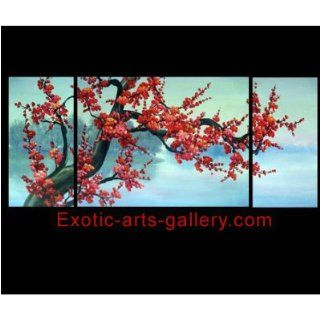 Blossom Painting Chinese Feng Shui Flower Painting 227 Home & Kitchen