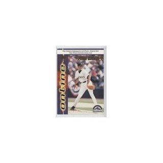 Astacio Colorado Rockies BB (Baseball Card) 1998 Pacific Online #237
