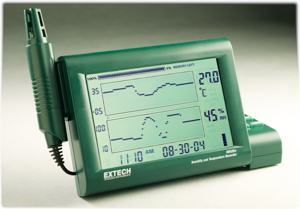 Temperature Chart Recorder with RS 232 Computer Interface