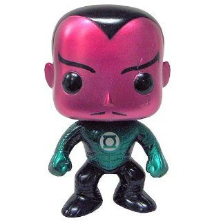SDCC Green Lantern Movie Metallic Sinestro Pop! Vinyl