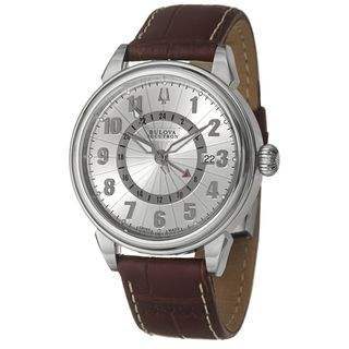 Bulova Accutron Mens Gemini Automatic Watch