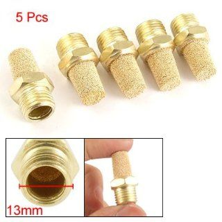 13mm Male Thread Pneumatic Exhaust Silencer Muffler 5 Pcs