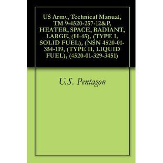 US Army, Technical Manual, TM 9 4520 257 12&P, HEATER, SPACE, RADIANT