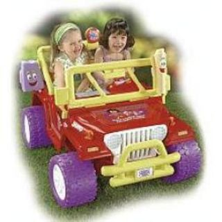 Fisher Price Power Wheels Dora Jeep Wrangler