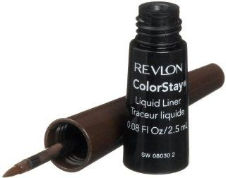 Revlon ColorStay Liquid Liner, Black Brown 252, 0.08 Ounce Beauty