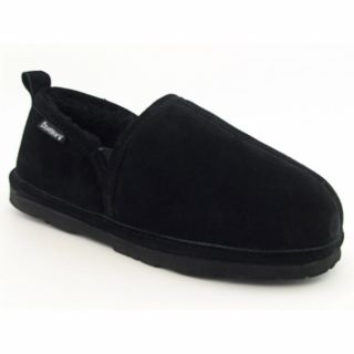 Bearpaw Mens Romeo II Black Slippers Shoes