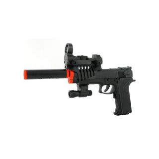 Electric Full Auto Tactical Model 2023A Airsoft Pistol