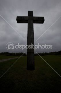 Dark Cross  Stock Photo © Lisa Quarfoth #2069898