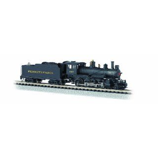 Baldwin 4 6 0 Steam Locomotive   PRR 267 N Scale   DCC on Board